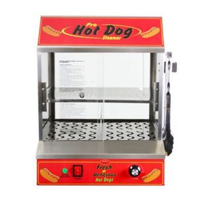 Machine à hot dog vapeurs BullsEye
