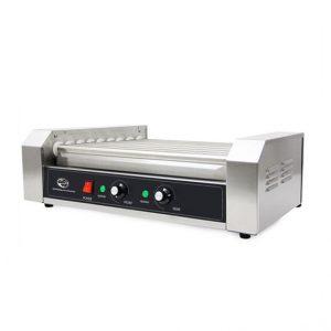 Machine à hot dog commerciale 9 rouleaux