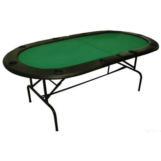 """Table de poker pliante à 10 joueurs 84"""""""