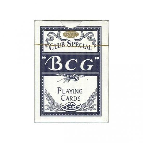 Jeu de cartes Std BCG Bleu
