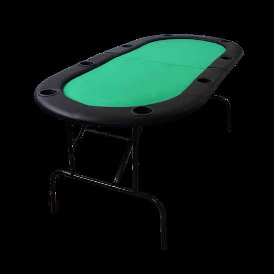 """Table de poker pliante à 8 joueurs 72"""""""
