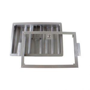 Plateau de jetons en métal sécurisé (cap 620 pcs)