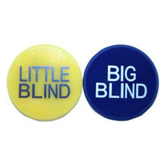 Bouton Big et little Blind 2 pouces