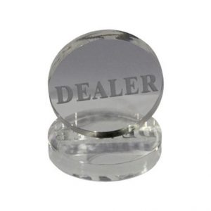 Bouton transparent dealer