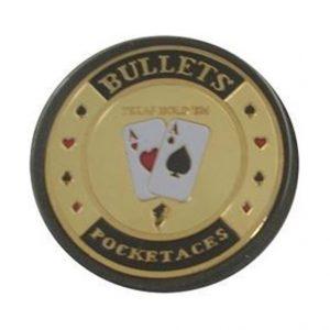 Protecteur de carte Bullet Or