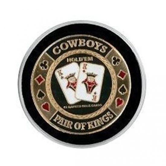 Protecteur de carte Cowboys Or